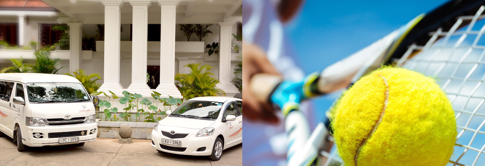 Tennis, Airport Transfer and Other Facilities at Mahaweli Reach Hotel
