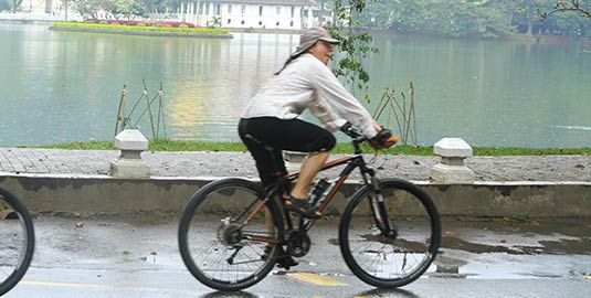 Cycling Tour around the Kandy City by Mahaweli Reach Hotel