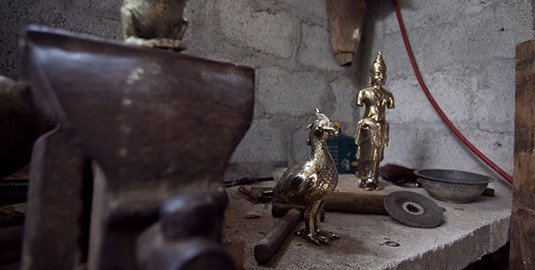 Brass Ornaments Made in Kandy