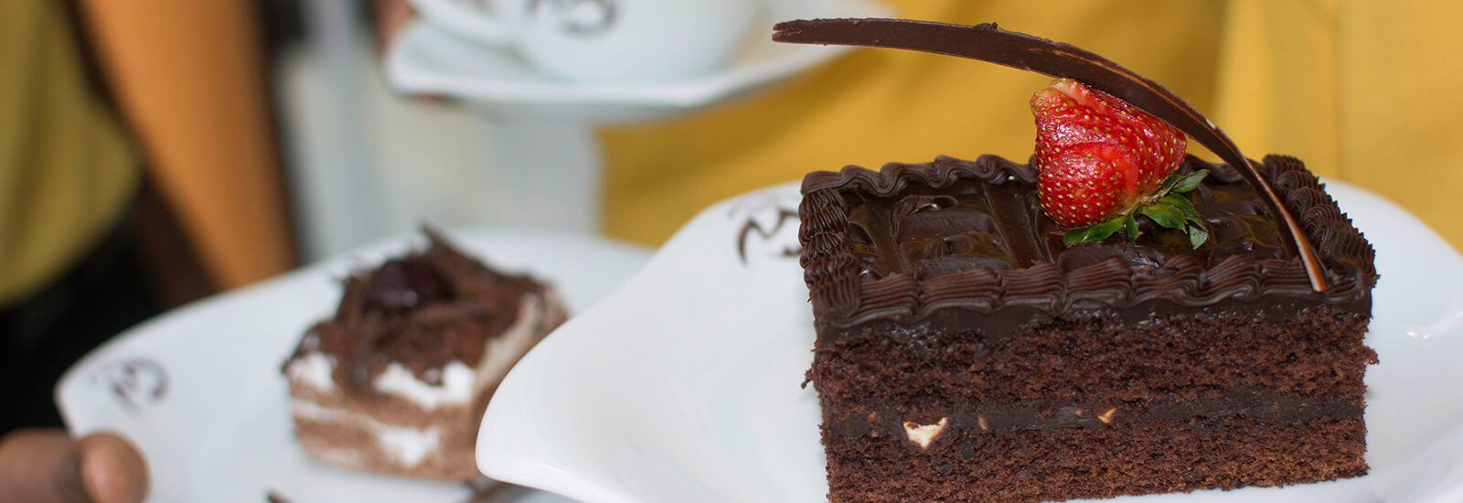 Cakes and Other Desserts at Cafe M in Mahaweli Reach Hotel