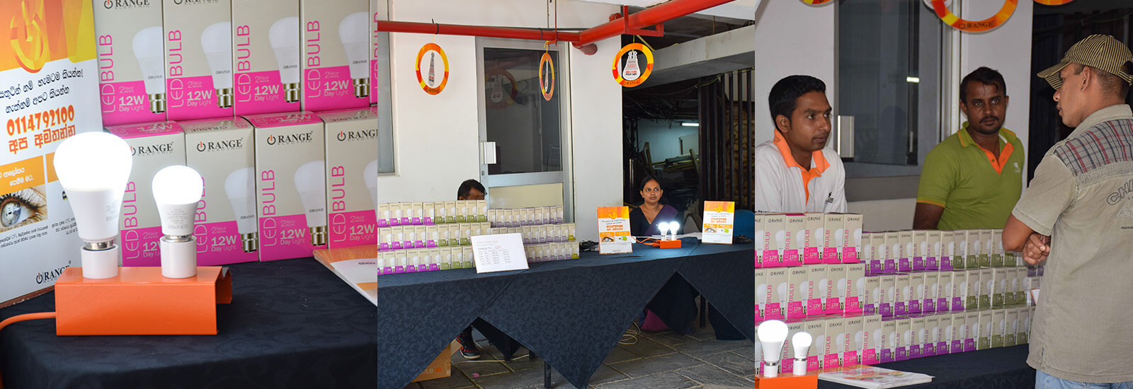Awareness Initiative and Promotion By Orange Electricals at Mahaweli Reach Hotel